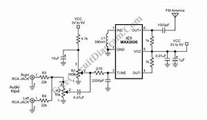 fm transmitter circuit page 6 rf circuits nextgr With 4w fm transmitter