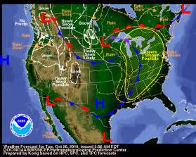 National Weather Map Today