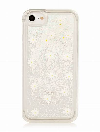 Glitter Case Daisy Liquid Phone Skinnydip London