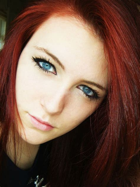 makeup tutorial  redheads  blue eyes avec images