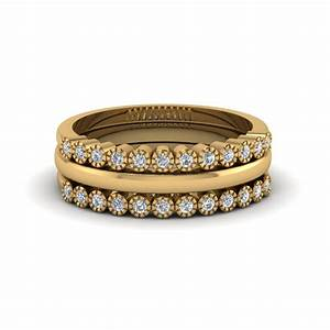 stackable diamond milgrain wedding ring fascinating diamonds With stackable wedding rings