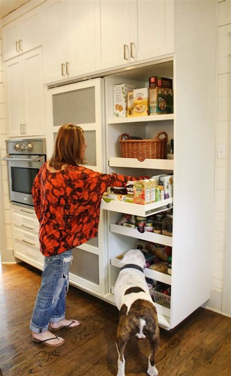 kitchen pull out storage creative pantry organizing ideas and solutions 5541