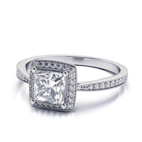 princess cut engagement rings engagement ring usa