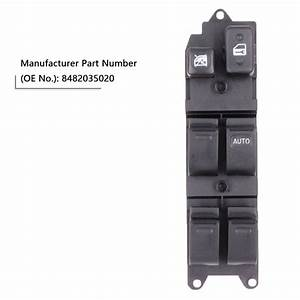 84820 35020 Electric Power Window Master Switch For Toyota Hilux 4runner Land Cruiser Carina E
