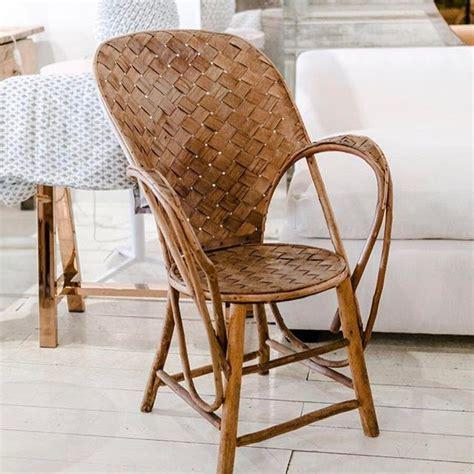 chaises tressées encuentra el asiento perfecto silla de ratán y madera en