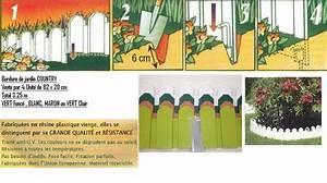 Bordure Jardin Pvc : bordure de jardin en pvc modele country ~ Melissatoandfro.com Idées de Décoration