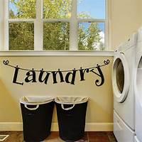 laundry room wall decor Laundry Room Wall Decals - Laundry Room Decals - Laundry ...