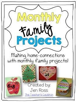 monthly family projects teaching family projects 642 | 6a329e38a02065c1d4561ebd8a5b12ec