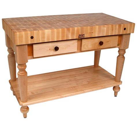 Kitchen Buffet With Butcher Block Top by Rustica Kitchen Island With Butcher Block Top In Kitchen