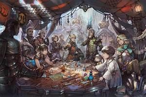 FFXIV Neues Artwork Zu Stormblood Nun Online Final
