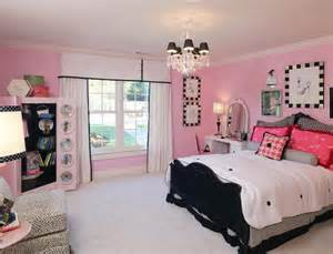 Pink Camo Bathroom Sets by Black And Pink Teenage Room Designs For Girls