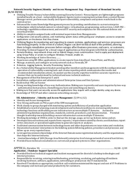 Identity And Access Management Professional Resume by Hayat Resume 1