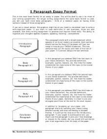 Basic Essay Format Example