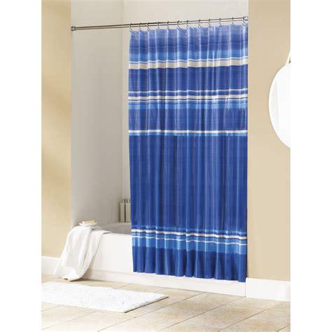 essential home shower curtain newport vinyl peva home