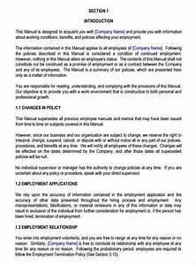 13  Employee Handbook Templates