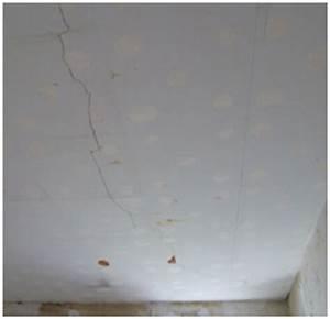 Fissure Au Plafond : fissure plafond album decoration reparer fissure ~ Premium-room.com Idées de Décoration