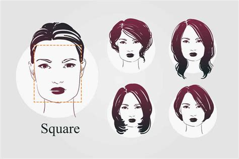 face shapes women hairstyles