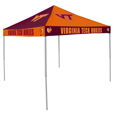 virginia tech hokies tailgate tent canopy checkerboard