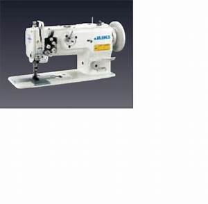 Juki Lu-1560n 2-needle  Unison-feed  Lockstitch Machine With Vertical-axis Large Hooks