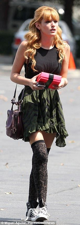 bella thorne leaves set  grunge stockings daily mail