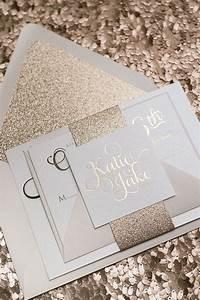 the 25 best wedding invitations ideas on pinterest With wedding invitations gold writing