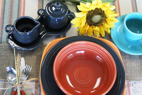 combinations fall fiesta fiestaware dinnerware colors alwaysfestive combos