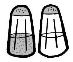 salt and pepper clipart black and white pepper shaker clip clipart best
