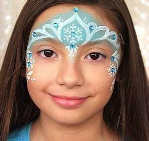 Modele Maquillage Carnaval Facile : 5 astuces pour un maquillage reine des neiges r ussi id es de f tes ~ Melissatoandfro.com Idées de Décoration