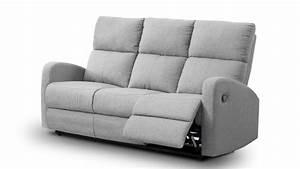 canape 3 places relax manuel harrouda avec revetement With tapis moderne avec canapé 3 places relax tissu