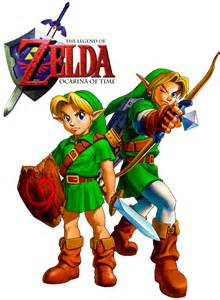 Legend of Zelda Ocarina of Time Logo