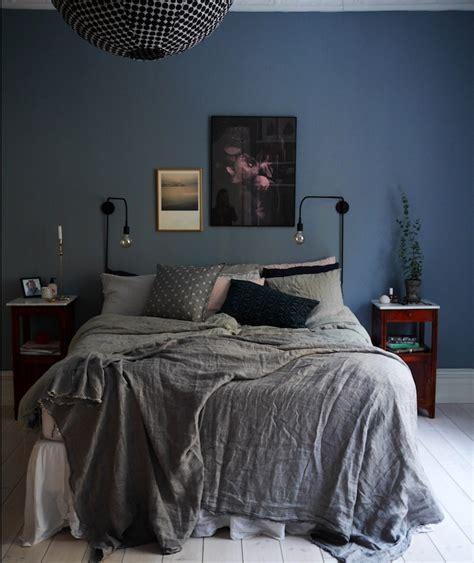 deco chambre adulte bleu gris