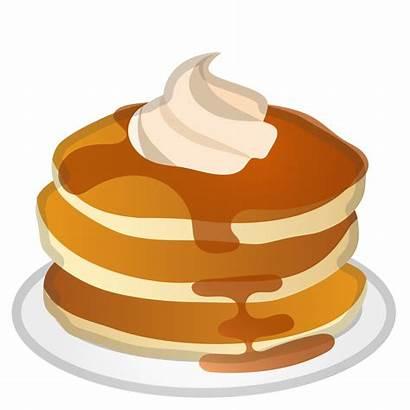 Icon Pancake Pancakes Emoji Clipart Dessert Svg