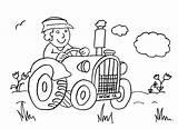 Coloring Tractor Farm Farmer Sheet Macdonald Farmyard Preschool Clipart Had Colouring Printable Animal Driving Pdf Cartoon Coloringhome Popular sketch template