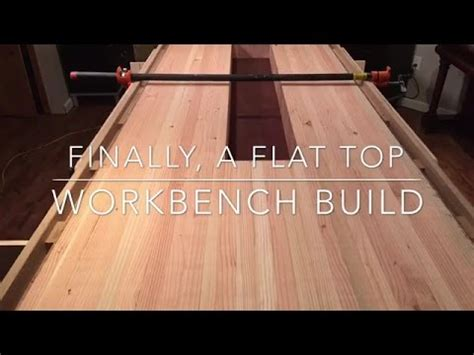 workbench build flattening  top  router jig