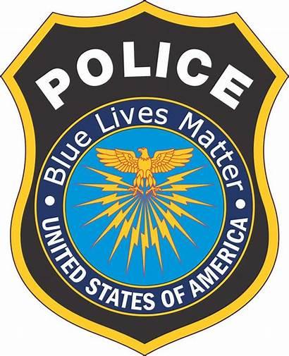 Police Badge Matter Lives Clip Vector Sticker