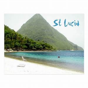 honeymoon st lucia postcard zazzle With honeymoon in st lucia
