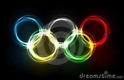 olympic rings   plasma editorial image image
