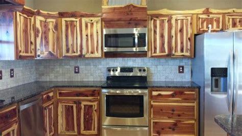 rustic cedar kitchen cabinets rustic red cedar kitchen cabinets modern frontier log