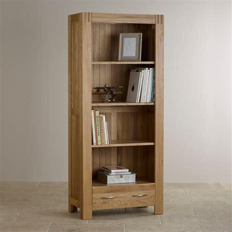 Alto Natural Solid Oak Bookcase  Living Room Furniture