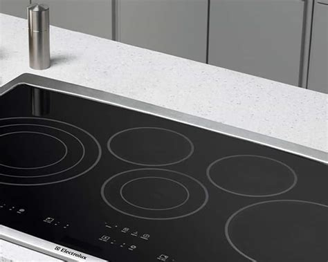 cooktops electric gas induction cooktops electrolux