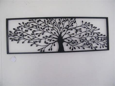 black metal wall decor black metal framed tree of wall home decor family