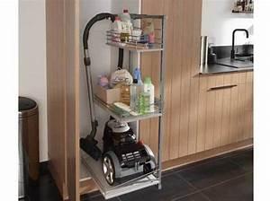des placards pratiques pour la cuisine elle decoration With aspirateur pour hotte de cuisine