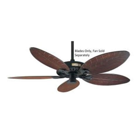 plastic outdoor ceiling fan replacement blades 52 in outdoor reversible antique plastic palm