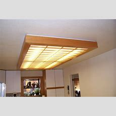 Ceiling Light Cover For My Kitchen  By Unknownwoodworker