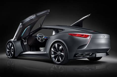 New Hnd-9 Concept Luxury Coupe By Hyundai