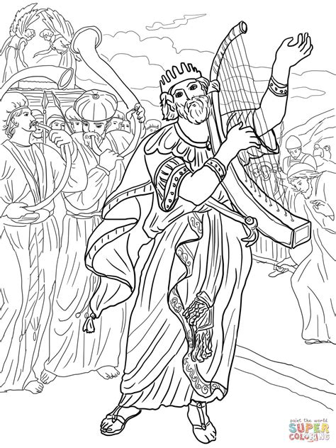King David Coloring Pages 2418713
