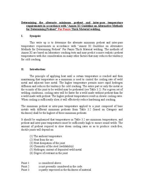 AWS D1.1 Determining the Minimum Preheat -Blank