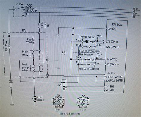 wirion diagram  sensor circuit daihatsu drivers club uk