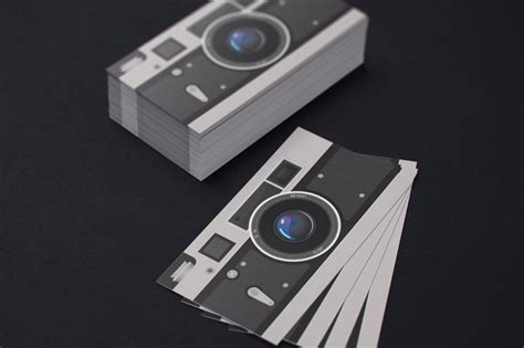 photographer business card template business card