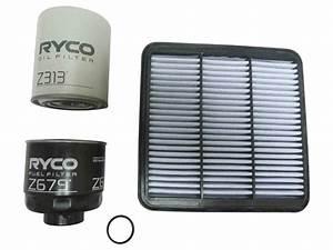Ryco Filter Service Kit Mitsubishi Mn Triton 2 5l 4d56 Diesel